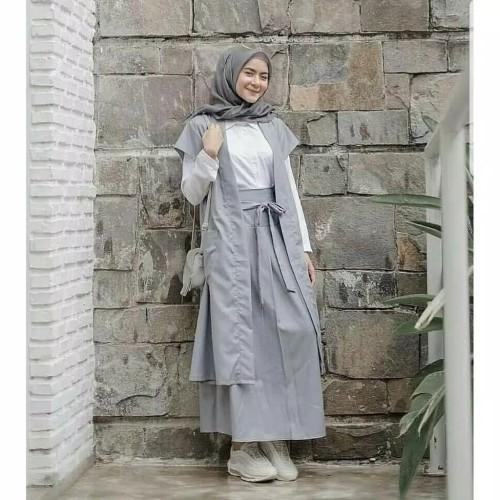 Foto Produk Arinda Set Setelan Muslim Stelan Muslim Wanita dari Sumber Tas