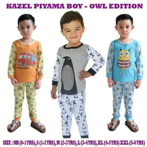 Foto Produk Kazel Piyama Boy Owl Edition M dari baby cute online shop