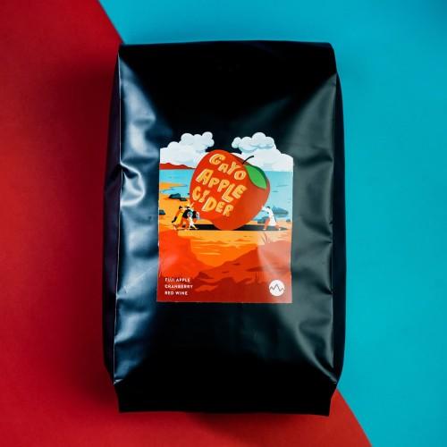 Foto Produk Gayo Apple Cider 1000 gram Manual Brew Coffee Biji Kopi Indonesia dari Space Roastery