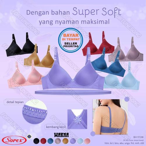 Foto Produk Bra SOREX Super Soft Tanpa Kawat Aneka Warna TIPE 17238 - 36 dari FORTUNE SONG