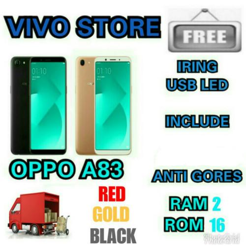 Foto Produk OPPO A83 / GARANSI RESMI OPPO INDONESIA 1TH - Hitam dari VIVO ST0RE