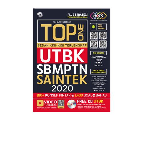 Foto Produk TOP ONE Bedah Kisi-kisi Terlengkap UTBK SBMPTN SAINTEK dari Toko Kutu Buku