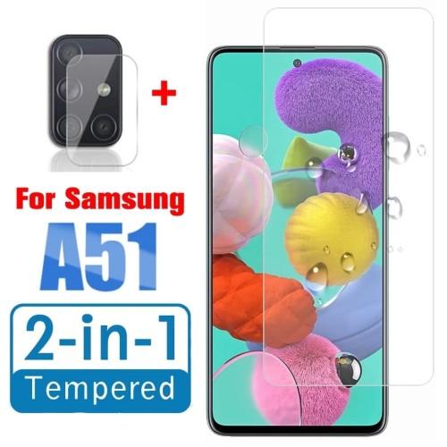 Foto Produk Tempered Glass Samsung A51 6,5 inch + Tg Anti Gores Lensa Camera dari Putra Jakfar ACC