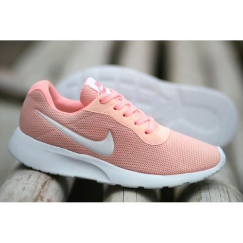 Sepatu Nike Tanjun Women Sneakers Lar Wanita Casual Gym Import Premium - Ungu 39