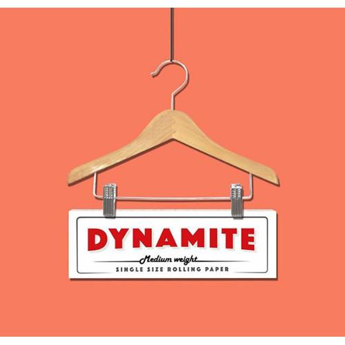 Foto Produk Jual Rolling Paper Dynamite Single White + Tbk Strawberry mint 3gr dari T.Dynamite