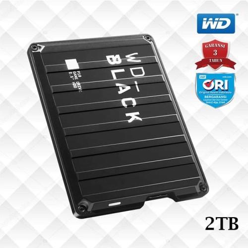 Foto Produk WD Black P10 2TB Game Drive - Hardisk Eksternal Gaming dari WD Official Store