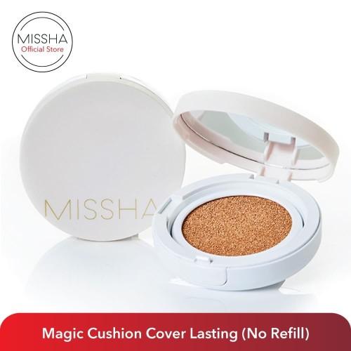 Foto Produk Missha Cushion Cover Lasting Single (Tanpa Refill) No.21 Light Beige dari Missha Indonesia