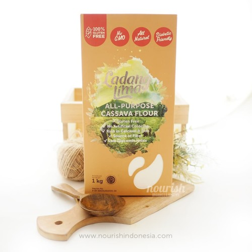 Foto Produk Ladang Lima, Gluten Free Cassava Flour 1kg dari Nourish Indonesia