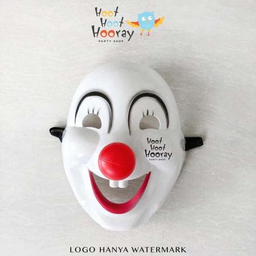 Foto Produk Topeng Badut Hidung Merah/ Clown Mask /Topeng Halloween /Topeng Joker dari Hoot Hoot Hooray