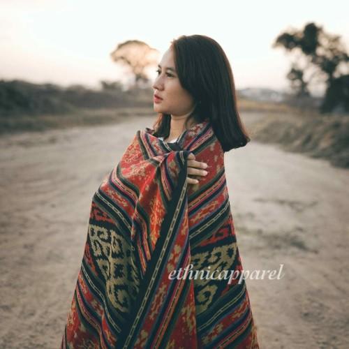 Foto Produk Kain Tenun Blanket Etnik Lombok BLK019 dari ethnicapparelstore