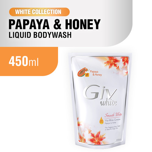 Foto Produk Giv White Collection Sabun Mandi 450 ml - Papaya dari Wings Official Store