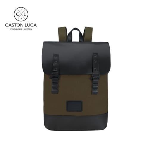 Foto Produk Gaston Luga Tas Punggung | Backpack Praper Olive Black dari Gaston Luga