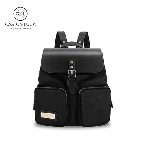 Foto Produk Gaston Luga Tas Punggung | Backpack Parlan Black dari Gaston Luga