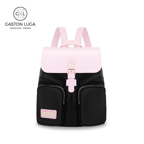 Foto Produk Gaston Luga Tas Punggung   Backpack Parlan Black Pink dari Gaston Luga