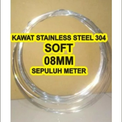 Foto Produk kawat stainless steel SOFT 0,8mm dari omnisore