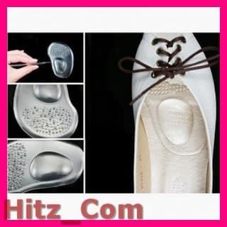 Foto Produk Alas Kaki Sepatu Soft Silicone Gel 2 PCS JS L122 Transparent dari Hitz_Com