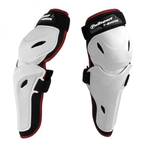 Foto Produk Pelindung Lutut Y-SHOCK White Polisport Size XL/XXL dari Thrill Bitz