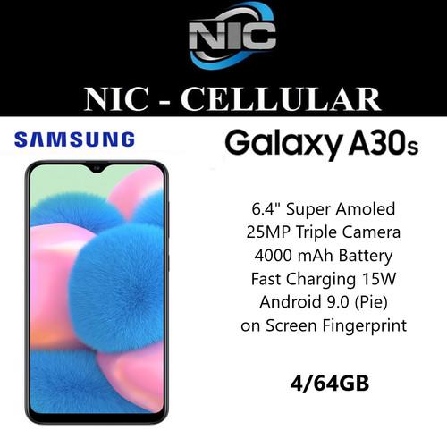 Foto Produk Samsung Galaxy A30s 4/64 RAM 4GB ROM 64GB GARANSI RESMI SEIN dari Nic-cell
