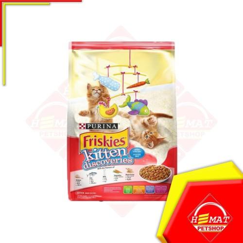 Foto Produk Makanan Kucing Friskies Kitten Discoveries 1,1 Kg / Discovery 1,1Kg dari Petshop Hemat Pet Shop