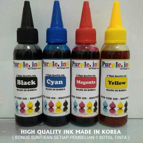 Foto Produk Tinta isi ulang / Refill untuk printer BROTHER ( isi 100ml ) dari KENANGA-COM