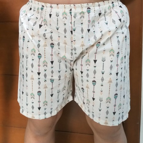 Foto Produk BIG SIZE - Celana Tidur Pendek Katun Wanita Jumbo Size XL XXL XXXL - Random, XXXL dari Pink Studio