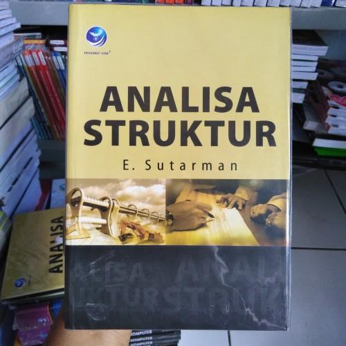 Foto Produk Buku Analisa Struktur dari BukuPlus