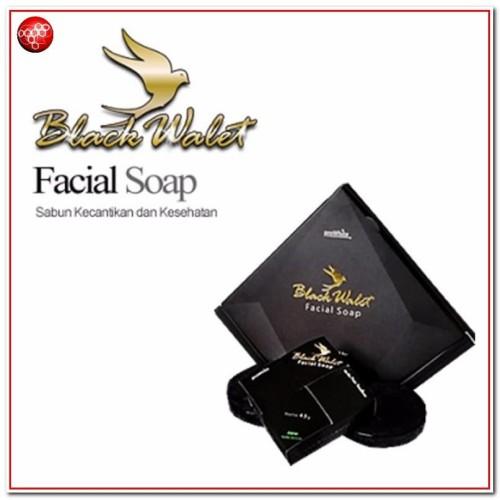 Foto Produk Sabun black walet untuk menyembuhkan jerawat dan memutihkan wajah dari GP Herbal Bandung