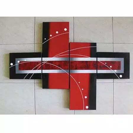 jual dekorasi hiasan dinding rumah - lukisan abstrak