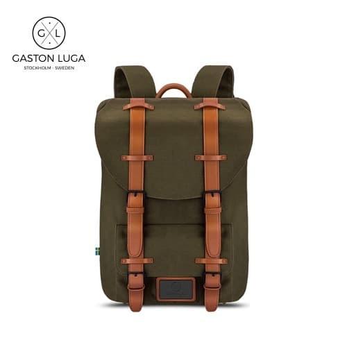 Foto Produk Gaston Luga Tas Punggung   Backpack Classic Dark Olive dari Gaston Luga