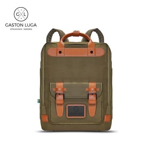 Foto Produk Gaston Luga Tas Punggung | Backpack Biten Dark Olive dari Gaston Luga