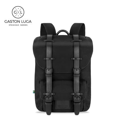 Foto Produk Gaston Luga Tas Punggung | Backpack Classic Black dari Gaston Luga
