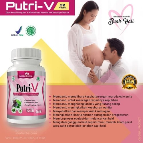 Foto Produk Herba V - Herbal Kesuburan Wanita Untuk Program Kehamilan dari istanaherbal123