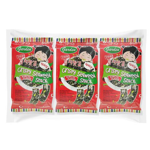 Foto Produk Nori Garden Seaweed Kimchi 15 gr dari Gautama Indah Perkasa