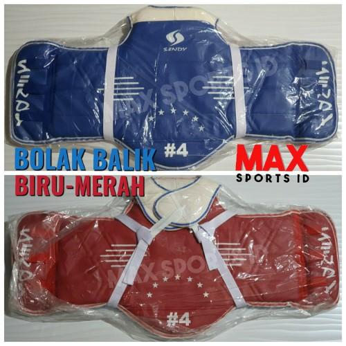 Foto Produk Hugo Sendy Body Protector Taekwondo Dua Sisi dari Max Sports ID