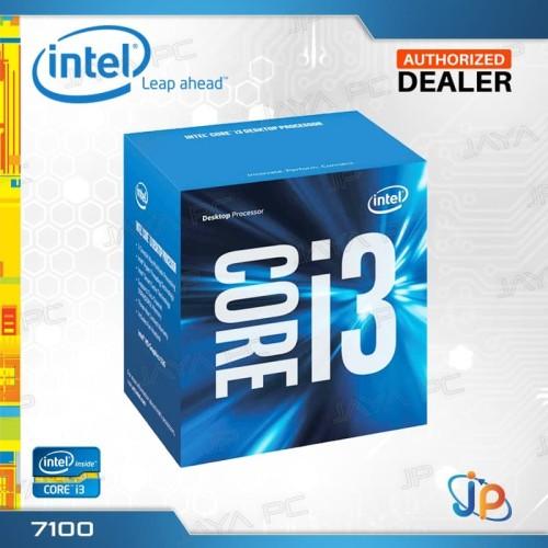 Foto Produk Processor Intel Core I3 7100 Box Kaby Lake Socket LGA 1151 dari Jaya PC