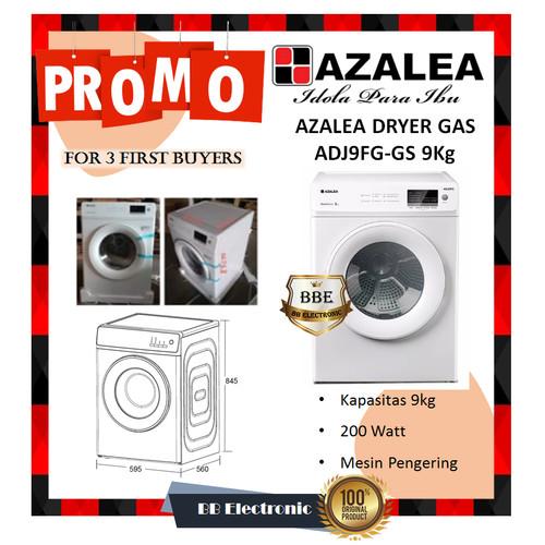 Foto Produk AZALEA DRYER GAS ADJ9FG-GS 9Kg dari BB ELECTRONIC