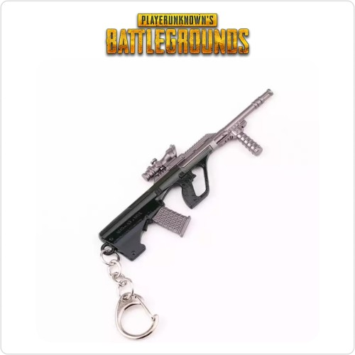 Foto Produk Keychain / Gantungan Kunci Games PUBG! Assault Riffle - AUG A3 dari Funtasticland