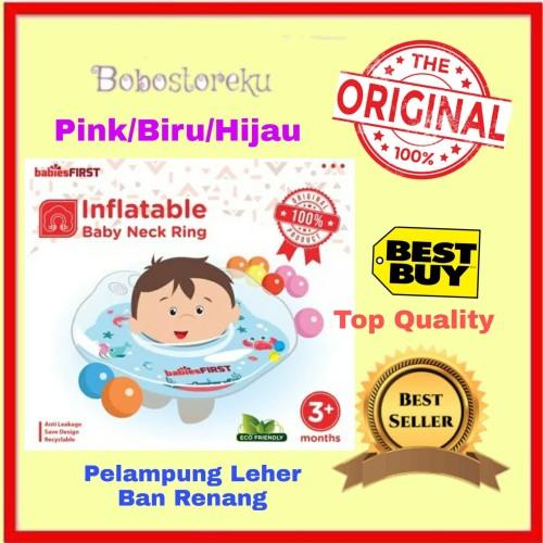 Foto Produk BABIESFIRST BABY NECK RING SWIM/ PELAMPUNG RENANG BAYI/ BAN LEHER BAYI - Merah Muda dari BoboStoreku