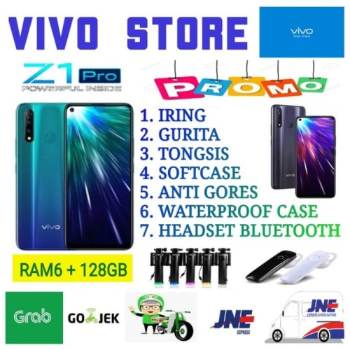 Foto Produk VIVO Z1 PRO RAM 6/128 GARANSI RESMI VIVO INDONESIA - black no bonus dari VIVO ST0RE