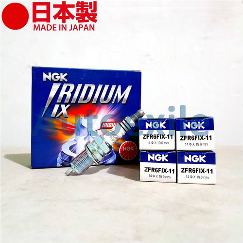 Foto Produk Busi Mobil NGK IRIDIUM IX ZFR6FIX-11 Jazz Freed Spin Mobilio BRV HRV dari Autoexile