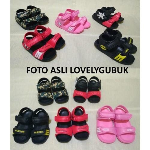 Foto Produk GET CASHBACK [LOGU] Sandal gunung anak, Sandal sepatu mickey spiderman dari DODO TOKO
