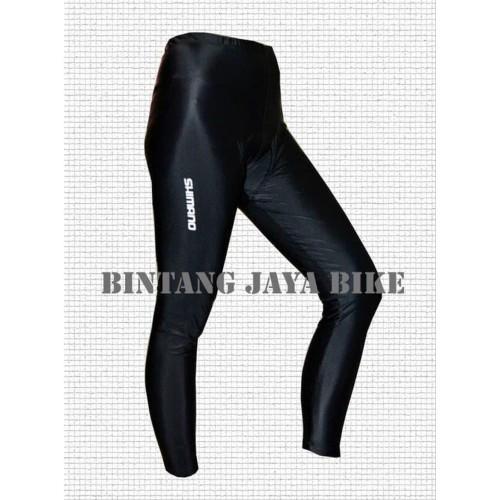 Foto Produk Jersey Celana Sepeda -Feb Celana Streach Shimano Long dari NAYLIL STORE99
