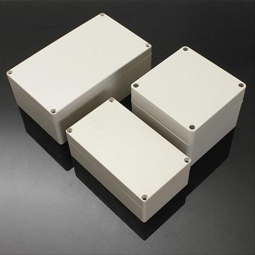 Foto Produk Elektronik Murah Waterproof ABS Plastic Electronic Box White Case 6 dari NAYLIL STORE99