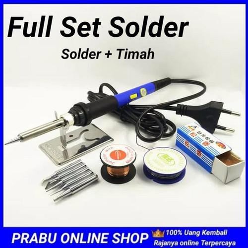 Foto Produk Full Set Solder Adjustable Temperature 220V 60W Welding Tool Kit dari NAYLIL STORE99