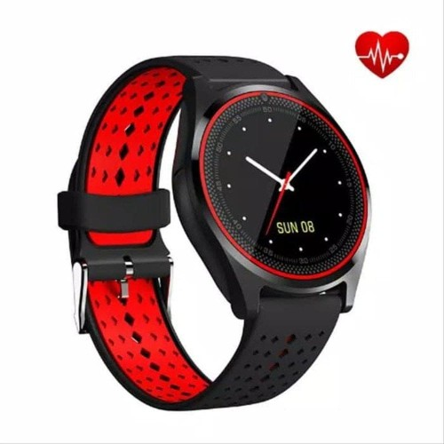 Foto Produk RESTOCK Smartwatch Heart Rate Monitor V9 with Camera support SIM card dari NAYLIL STORE99