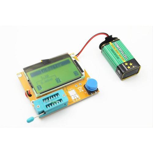 Foto Produk TERLARIS AR ESR Meter Mega328 M328 LCR-T4 LCR led Transistor Tester dari NAYLIL STORE99