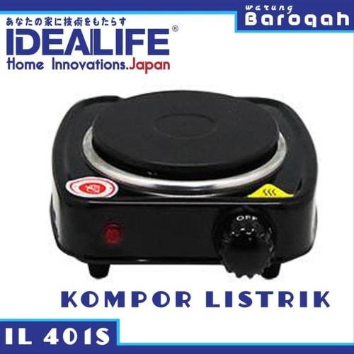 Foto Produk Kompor Listrik 1 Tungku - Idealife IL-401S Electrical Stove Single dari NAYLIL STORE99