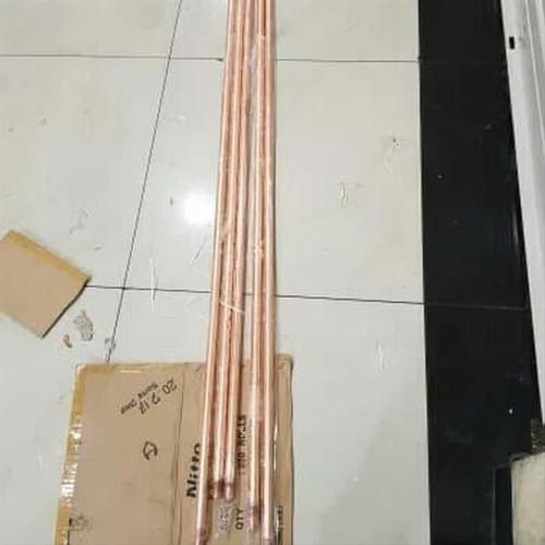 Foto Produk COPPER BONDED 5 8inc pjg 3 meter ROD BESI LAPIS TEMBAGA GROUNDING dari NAYLIL STORE99