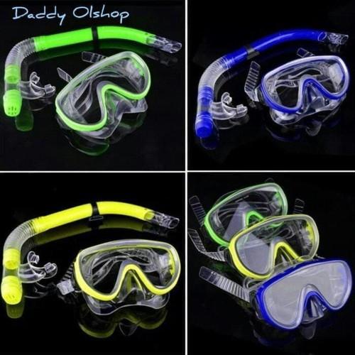 Foto Produk Alat Snorkeling -Feb Snorkling anak snorkling dewasa kacamata renang dari NAYLIL STORE99