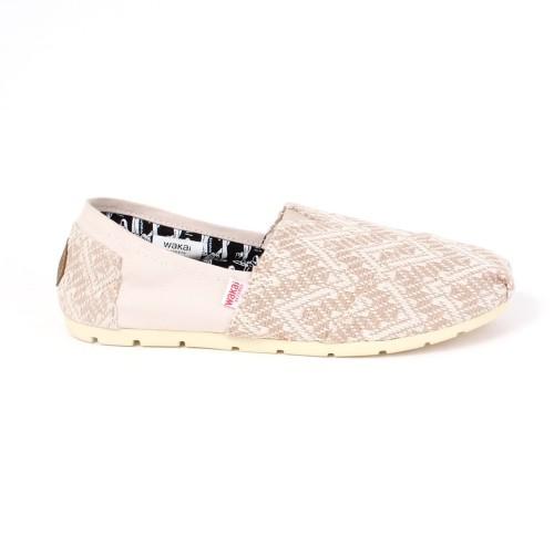 Foto Produk Footwear Men Wakai SM11994 CORE White/Cream - 43 dari Wakai Official Store